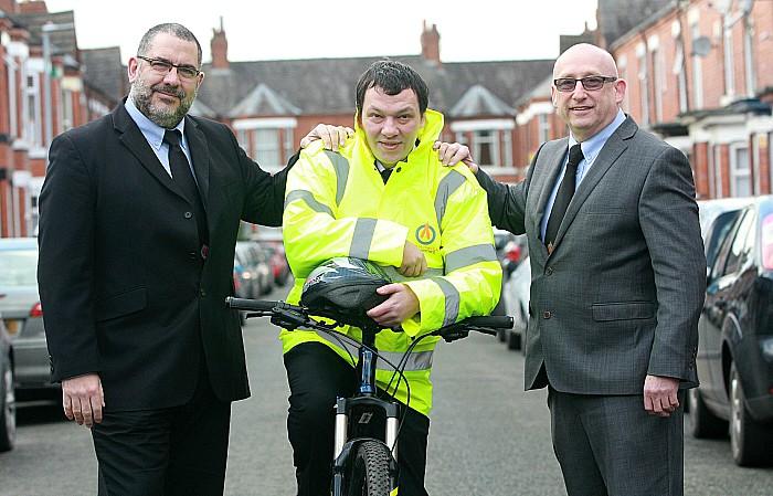 bike - Alpha securities ride to work