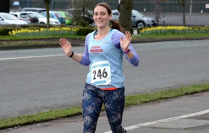 Amanda Kimber, London Marathon