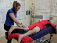 Nantwich mum proves handy in launching new sports massage career
