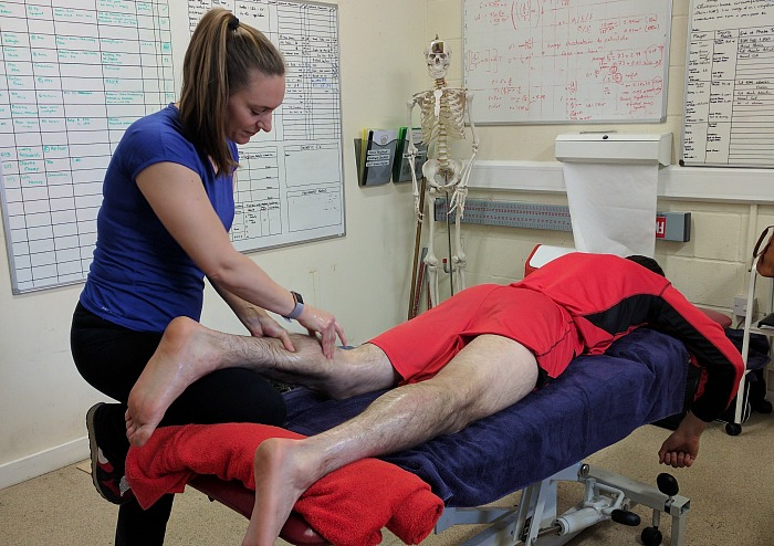 Amanda Kimber and sports massage career
