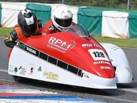 South Cheshire sidecar racer Dodd earns success on opening weekend