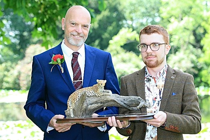 An Man - Dr Mark Pilgrim, Thomas Peacock North of England Zoological Society Award (1)