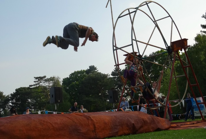 An acrobat - The Lost Carnival
