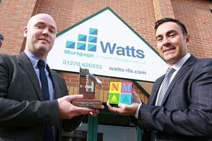Nantwich firm Watts Mortgages shortlisted in national award