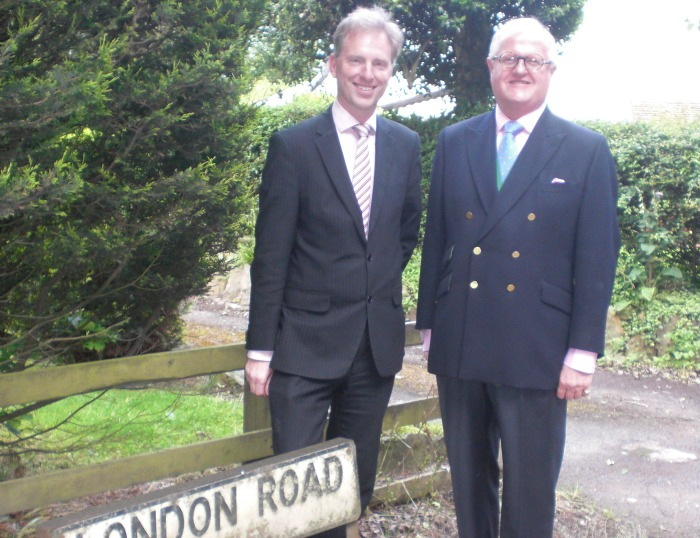 Andrew Martin and Peter Groves, in Stapeley