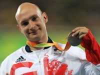 Nantwich Paralympian Andrew Small in T33 100m final
