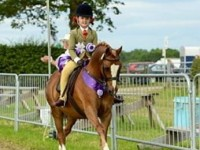 Woore girl, 10, secures amazing horse showing hat-trick