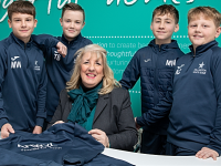 Willaston White Star U13s kit boost by Anwyl Homes