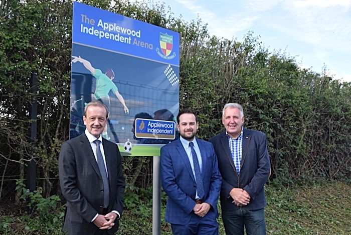 Applewood Independent sponsoring 3G arena at Nantwich Town FC