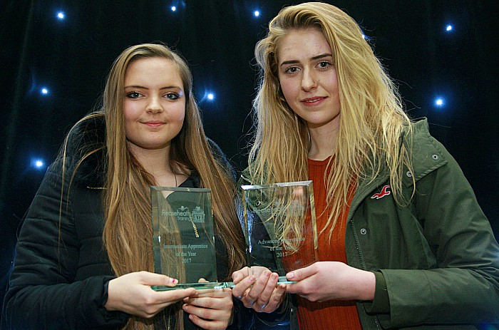 Apprentices of Yr Laura Gunnel (Intermediate) Sofy Ellison (Advanced)1