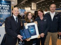 Aqueduct Marina near Nantwich wins three top awards