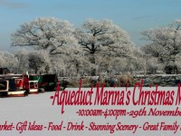 Aqueduct Marina near Nantwich to stage weekend of Christmas events