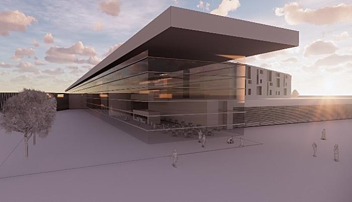 Architects impression of new Leighton Hospital (1)