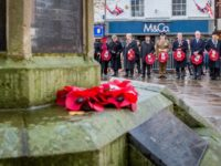Thousands pay tribute in Nantwich on centenary of Armistice Day