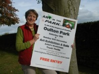 Cheshire high Sheriff backs Art in  the Park event for local hospices