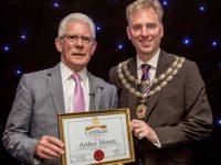 Nantwich Cllr Arthur Moran celebrates 30 years' service