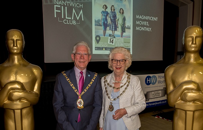 CEC Mayor Arthur Moran and Nantwich Mayor Penny Butterill - film