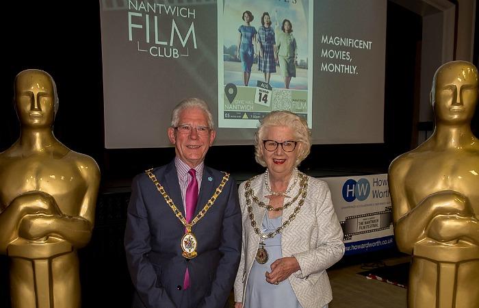 CEC Mayor Arthur Moran and Nantwich Mayor Penny Butterill - film