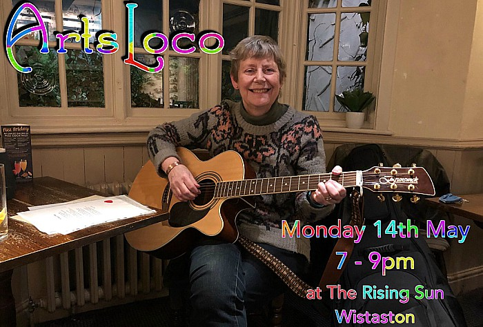 ArtsLoco - next event - Monday 14th May 2018-7-9pm