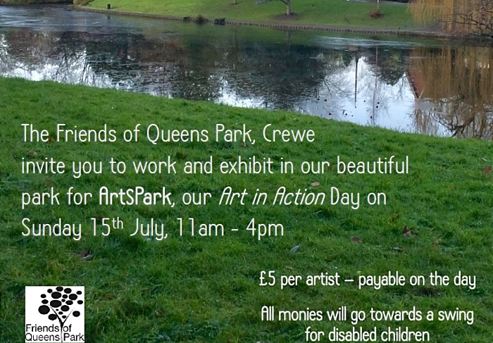 ArtsPark - Queens Park Crewe - Sun 15-7-18