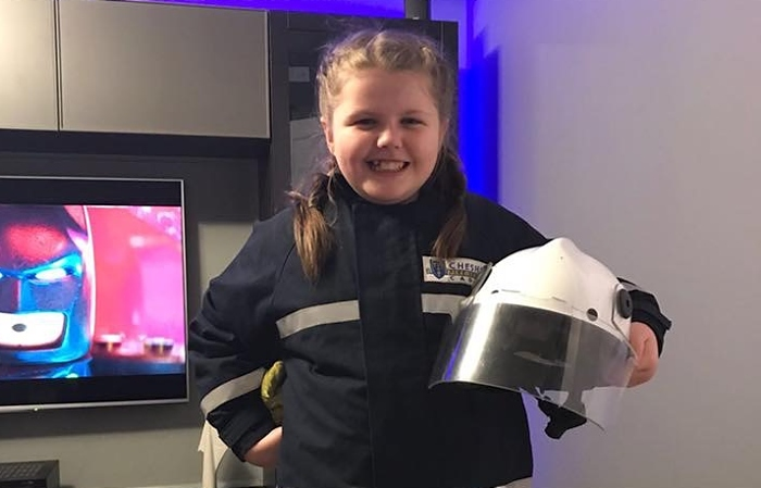 Ashleigh fire cadet, curry night for Nepal project