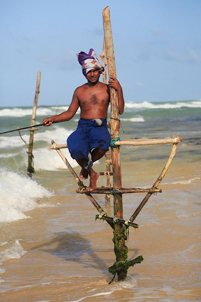 Asian - Fisherman On Stilts SriLanka