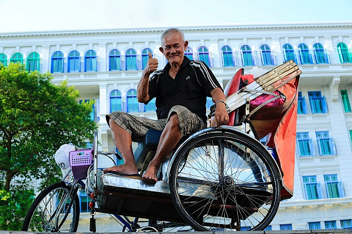 Asian - Rickshaw Uncle Singapore