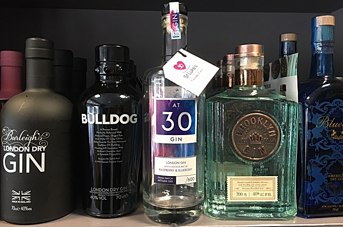 Rodney Densem Wines - At 30 gin - launched in aid of St Luke's Hospice