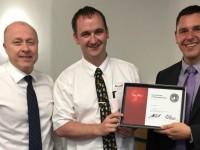 Crewe Audi sales advisor scoops company award