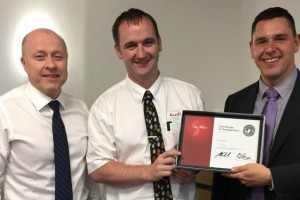 Crewe Audi sales advisor scoops company award