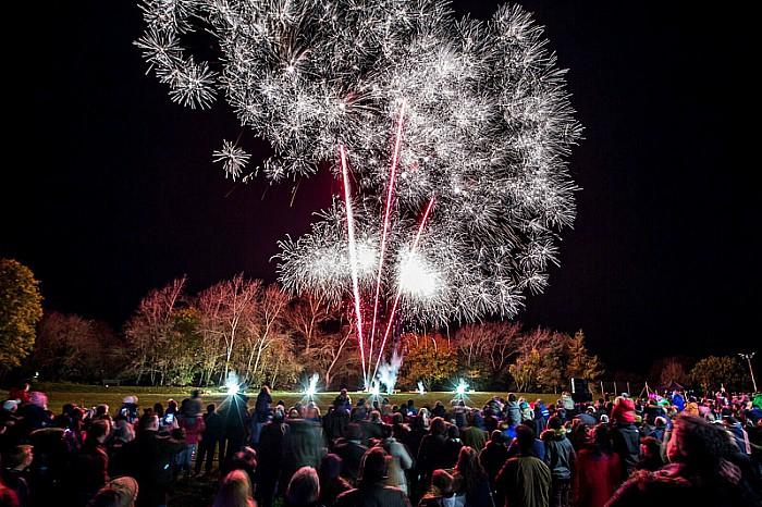 Audlem Fireworks 2 and Bonfire