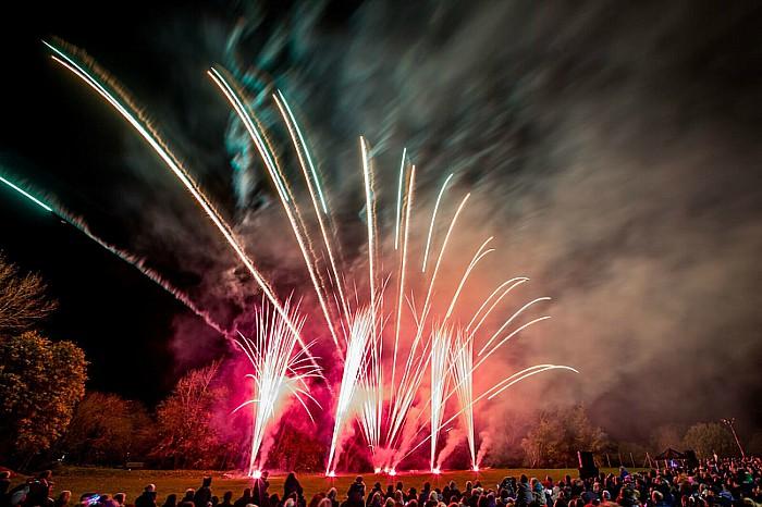 Audlem Fireworks 3
