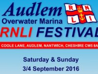 Audlem RNLI Festival to be staged at Overwater Marina