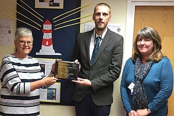 Audlem St James Gold award