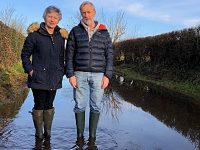 Rural flooding victims in South Cheshire blast council response