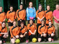 Audlem ladies tackle first football match in aid of NWAA