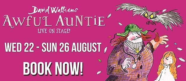 Awful Auntie at Lyceum - poster