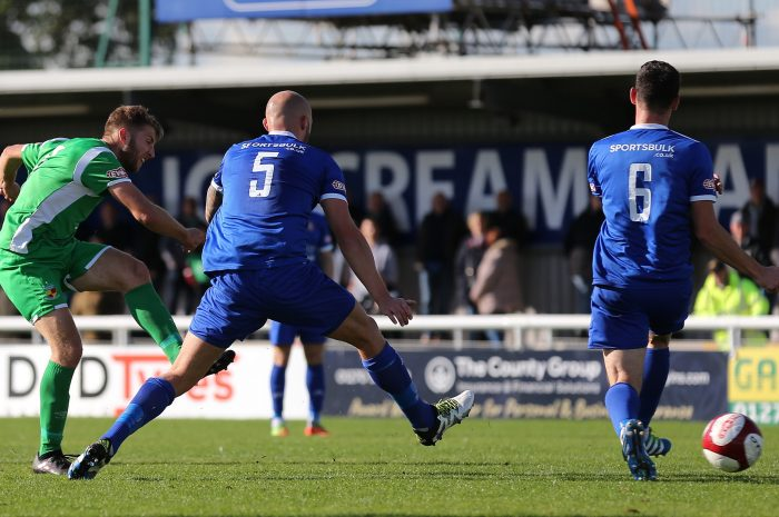 Nantwich Town play at home to Farsley