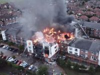 150 evacuated after large blaze rips through Crewe retirement home