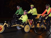 BBC One Show Rickshaw Challenge motors through Nantwich and Crewe