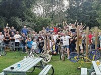 BMX bike fans reunite in South Cheshire for annual social ride