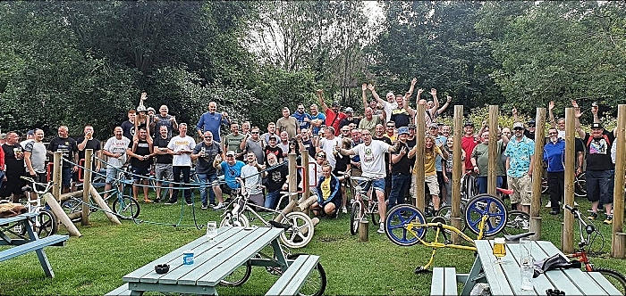 BMX riders at The Woodside in Wistaston (1)
