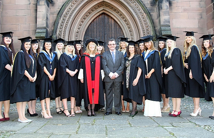 BSc Equine Science graduates with vet Campbell Thompson (1)