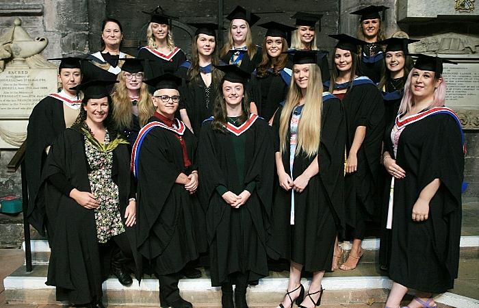 BSc (Hons) Equine Science graduates