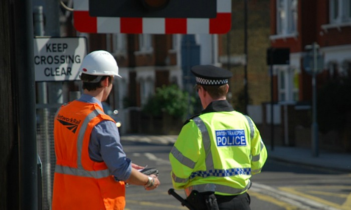bt-police-and level crossings network-rail-staff
