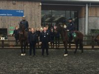 Retired racehorses help Nantwich students on career path