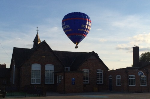 Balloon over Wistaston Church Lane Primary School.jpg