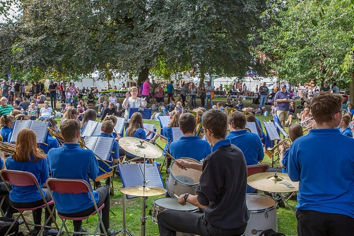Band on Church Green - food festival