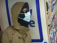 CCTV images of armed robber who targeted Crewe minimart store