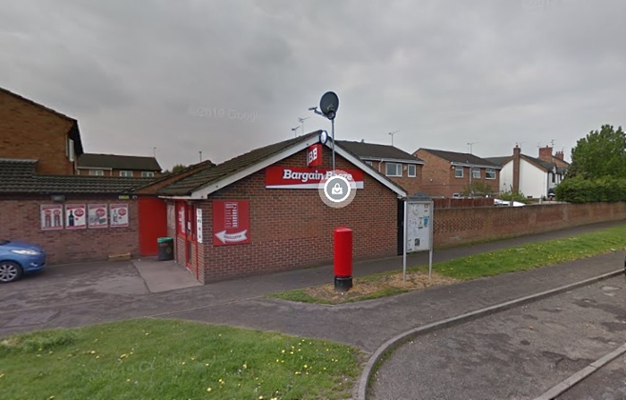 Bargain Booze in parkers road Crewe - armed robbery